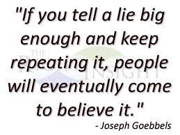 Image result for big lie
