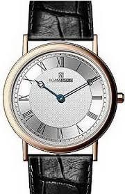 Мужские <b>часы Romanson</b> Leather <b>TL5110SMR</b>(<b>WH</b>)