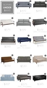 Small Picture Sofa roundup Under 600 Emily Henderson Sofas Chairs