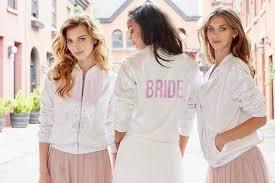 hayley paige sequin athleisure update jlm couture Wedding Day Vibes Hayley Paige hayley paige athleisure bomber jacket hayley paige wedding day vibes robe