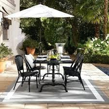 indoor outdoor furniture la indoor outdoor dining table rectangular black granite top indoor outdoor furniture roanoke
