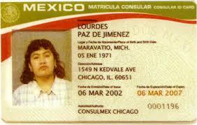 Matricula Matricula Matricula Card Card Consular Card Consular Matricula Consular