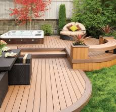 Backyard Deck Design Ideas Simple 48 Hot Tub Deck Ideas Secrets Of Pro Installers Designers
