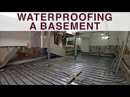 what to know before waterproofing a