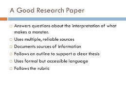research paper english iii objectives  students will learn  objectives  students will learn prewriting drafting and revising techniques for writing a literary 4 a good research paper