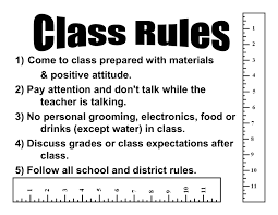 classroom rules template the need for effective classroom management re visited classroom