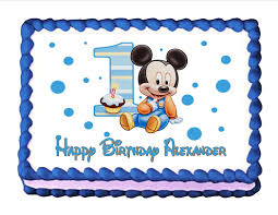 Download Edible Cake Toppers For Birthdays Abc Birthday Cakes