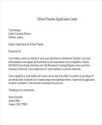 Cover Letter Montessori Teacher Awesome Resume New Template For