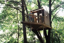 how to build a treehouse. Treehouse In The Backyard-DESIGNRULZ (1) How To Build A