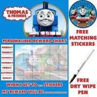 Thomas And Friends Reward Chart Reusable Thomas And Friends Potty Training Reward Chart
