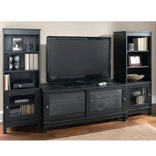 entertainment centers tv stands home entertainment center stand shelves wood media console 2 side pier towers