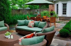 Small Picture Green wicker outdoor furniture