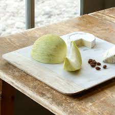 Marble cutting boards with lots of character.