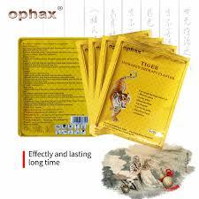OPHAX <b>16pcs</b>/2bags Tiger Balm <b>Chinese Herbs</b> Medical Plasters ...