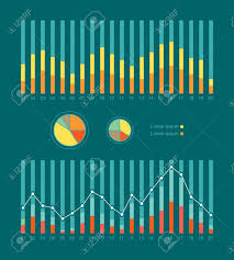 Set Of Elements For Infographics Graphs And Charts Show Weather