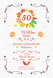 autumn anniversary invitation