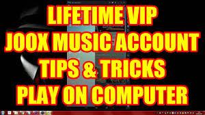Joox Music Lifetime Vip Member Play In Pc