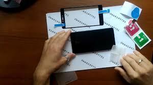 Клеим <b>защитное стекло Full cover</b> Xiaomi, Meizu, Samsung в ...