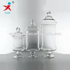 Decorative Glass Jars With Lids Wholesale