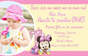 baby mickey mouse invitations birthday top minnie mouse birthday invitations for your loved ones