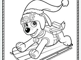 Paw Patrol Coloring Pages Everest Skye And Badge Mesmerizing