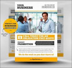 Free Email Flyer Templates Brochure New Stylish Flyers Template E