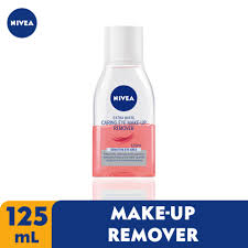 nivea face extra white caring eye makeup remover 125ml