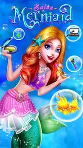 mermaid makeup salon apk screenshot