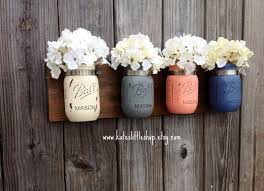 How To Decorate A Mason Jar Image Result For Hanging Flower Mason Jar Wall DIY Pinterest 73