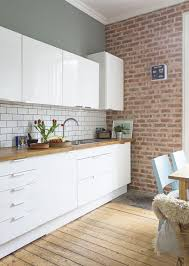 white kitchen wall tiles. Stylish White Kitchen Wall Tiles Put Brick Metro On Your T