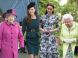 Photos Show How Kate Middleton Has Copied the Queen's Style