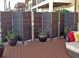brilliant patio privacy screen outdoor fabric sathoud decor simple idea home depot canada for apartment do it yourself with planter plant lowe