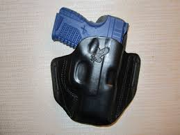 item 616 springfield xds xds 3 3 45 cal formed leather pancake owb belt holster