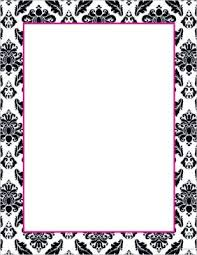 great papers templates great papers black white damask stationery 80 pack