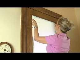 ways to decorate glass front doors