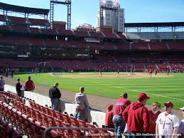 Busch Stadium View From Dugout Box 135 Vivid Seats