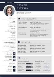 Create A Professional Cv Professional Cv Ms Word Template