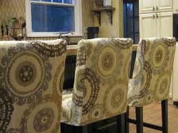 simple details barstool slipcover reveal would work with ikea stools
