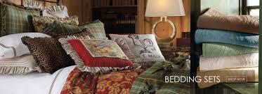 Lodge Bedroom Furniture Log Homes Rustic Decor Cabin Bedding Log Cabin Furniture