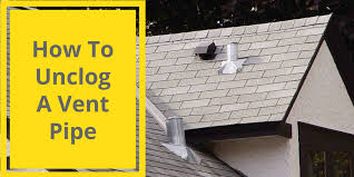 p iowa how to unclog a vent pipe