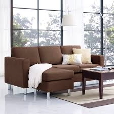 Living Room With Sectional Sofa Dorel Living Small Spaces Configurable Sectional Sofa Hayneedle