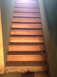 Enchanting Painted Basement Stairs Ideas Pics Decoration Ideas - Painted basement stairs