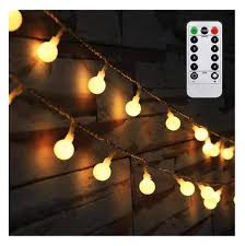 Battery Light Globe Amars 16 4ft Led Globe String Lights Battery Operated With Remote Controller Warm White 50 Bulbs Indoor Bedroom Hanging Ball Fairy Light For Tapestry