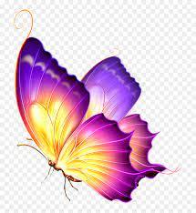 Purple Glow Png - Glowing Butterfly Png ...