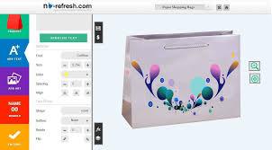 Bag Design Software Free Custom Paper Shopping Bags Design Software To Design Bags Online