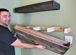 these good looking diy floating shelves are super easy and inexpensive to make awesomejelly com