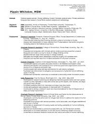 Printable Of Social Work Resume Templates Large Size .