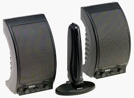 speakers wireless. amazon.com: rca wsp150 900 mhz wireless speakers (discontinued by manufacturer): home audio \u0026 theater
