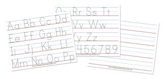 alphabet practice paper a z tracing worksheets confessions of a homeschooler