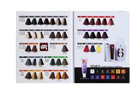Color Design Hair Colour Chart Two Folder Hair Color Swatch Book Color Design Hair Color